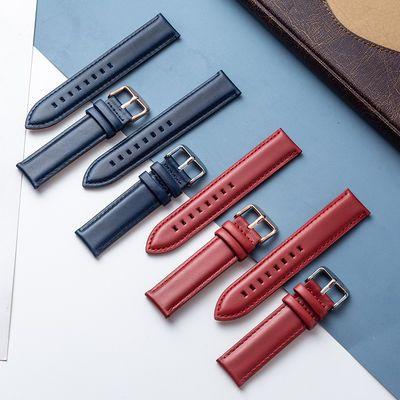 代用Dw男女情侣柔软真皮手表带丹尼尔惠灵顿通用时尚手表带表链