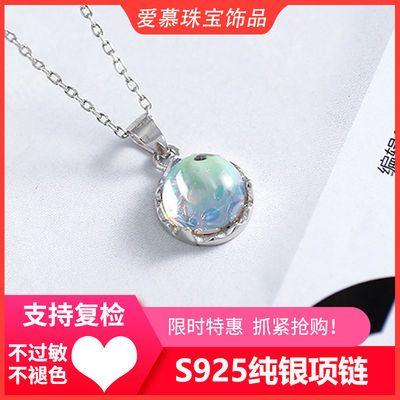 S925项链女纯银小众设计韩ins银饰简约气质潮个性网红饰品锁骨链