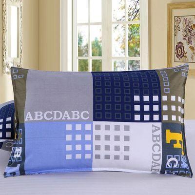 枕头芯送枕套学生枕芯带枕套单人卡通可爱套装一对拍二只保健护颈