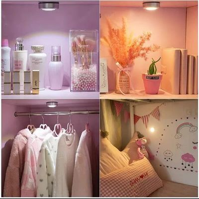 粘贴电池小夜灯阅读灯照明灯寝室宿舍照明用灯拍拍灯