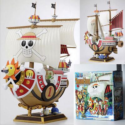 动漫二次元onepiece航海王海贼船万里阳光号桑尼号海盗船拼装模型