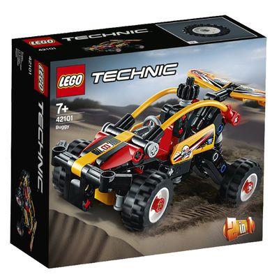 【正品行货】 乐高(LEGO)积木 Technic机械组 42101沙滩越野车