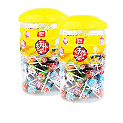 年货雅客天天棒桶装食糖礼盒新年混合阿尔创意喜糖徐福节礼零食品