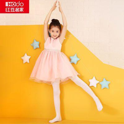 红豆居家女童夏季天鹅绒连裤袜儿童打底裤薄款丝袜学生舞蹈袜子