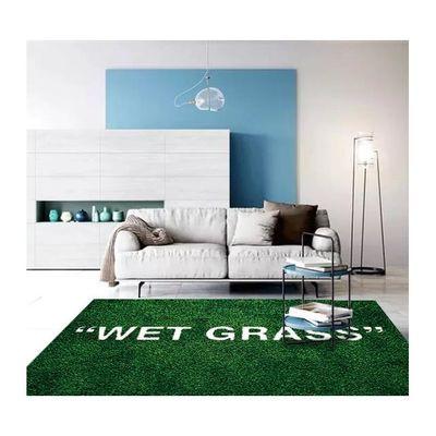 2020新款宜家地毯IKEA湿草地联名玛克拉德潮牌地毯