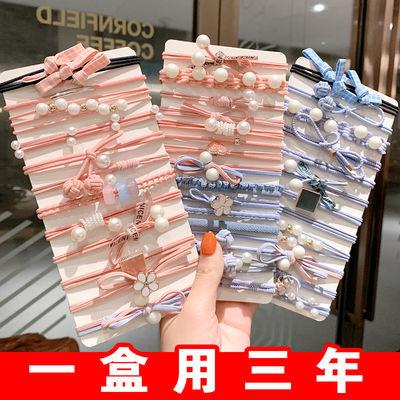 韩国ins发绳发圈简约小皮套扎头发头饰橡皮筋网红森女可爱头绳女