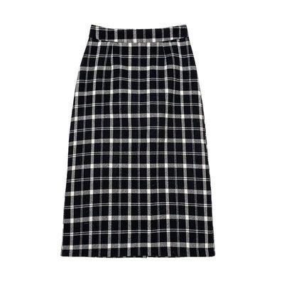 【韩国轻奢专柜】格子半身裙包臀裙NNS23AKK8925