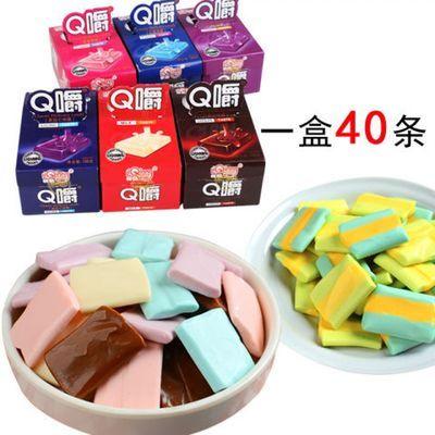 喜糖福记口味小吃利强Q爵水果儿童果果创意夹心散装休闲大礼酵素