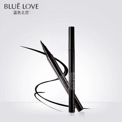 蓝色之恋正品午夜酷黑液体眼线笔防水不掉色不晕染速干大眼睛