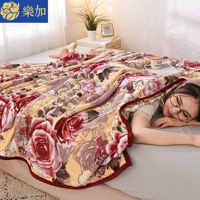 【加厚包边毛毯】双面珊瑚法兰绒毛毯床单双人学生宿舍铺床超柔毯