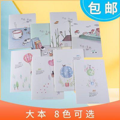 B5大号笔记本子古风可爱韩版小清新记事本便宜厚手账本日记本批发