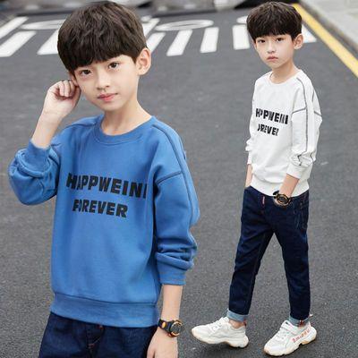 童装男童春装薄款长袖卫衣2020新款中大童卫衣洋气打底衫韩版休闲