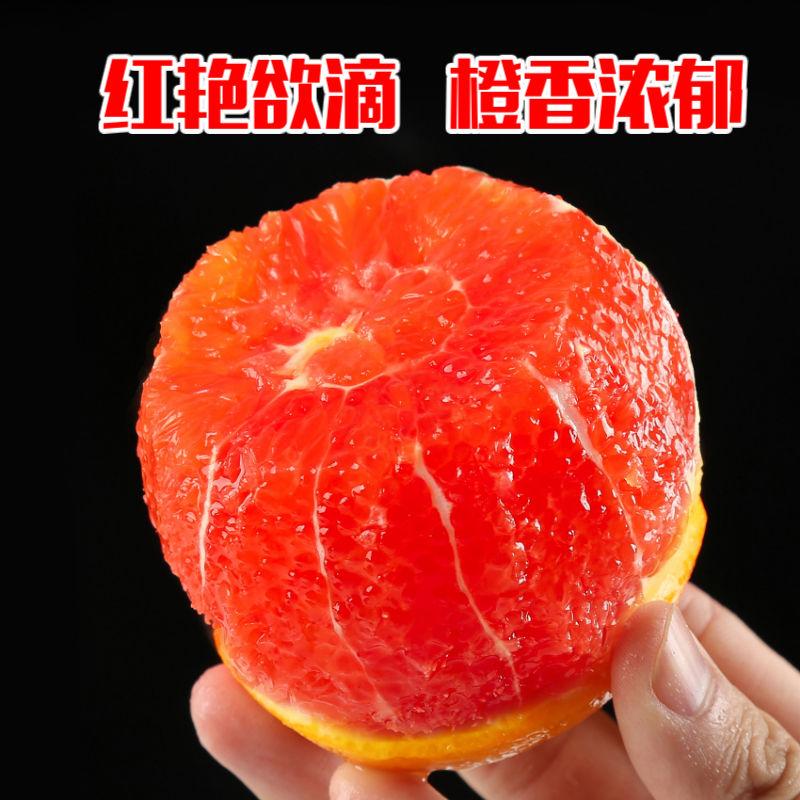 【现摘现发】中华红橙血橙红心红肉橙3/5/2斤装当季新鲜孕妇水果