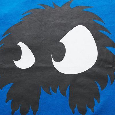 MCQ19秋冬多色纯棉Chester Monster印花休闲百搭圆领男士短袖T恤