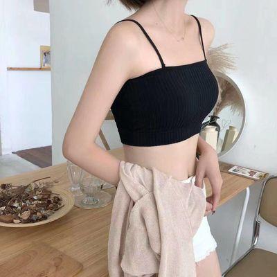 【2/3件装】韩版吊带背心女学生打底无钢圈裹胸内衣女抹胸式文胸