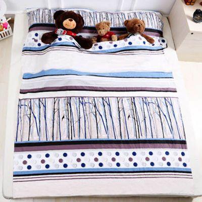 户外旅行酒店宾馆隔脏睡袋成人室内出差便携式薄纯棉睡袋防脏床单