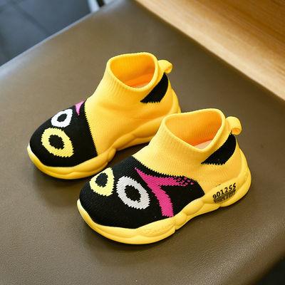 请参考鞋内长, 可爱的一款鞋子, 采用的是飞织面料,透气性好, 颜色鲜艳,很适合小孩子穿