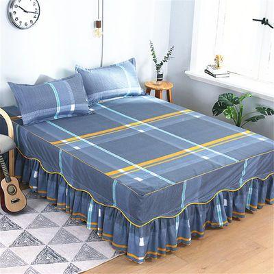 九鹿堡家纺【三件套】席梦思床裙床罩床套单件韩式床单床盖床笠
