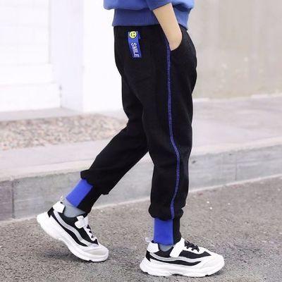 男童裤子春装儿童运动裤男孩春秋休闲中大童长裤2020新款洋气童装