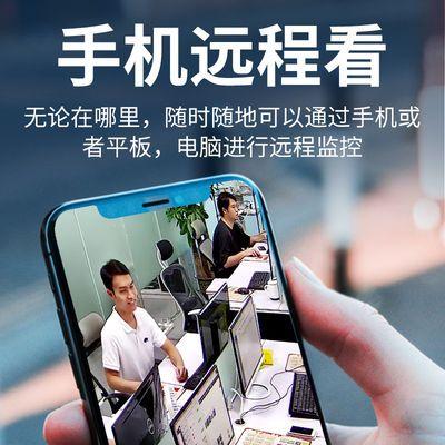 无线监控摄像头360度室外超高清夜视网络监控器家用wifi手机远程