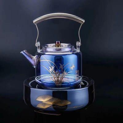 瓷都新品智能电陶炉煮茶器贝彩烧玻璃壶家用套装电茶炉烧水壶包邮