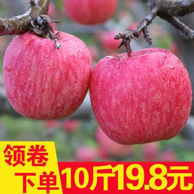 苹果水果新鲜红富士水果现摘苹果脆甜丑现货脆苹果大果10斤包邮