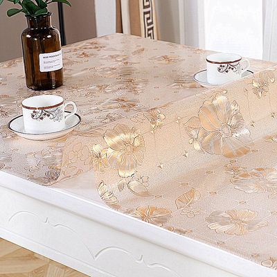 软玻璃透明桌布防水茶几布PVC防油防烫台布免洗塑料餐桌布水晶板
