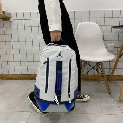 韩版潮流双肩包新款男包女包AJ背包学生书包大容量背包大魔王书包【3月16日发完】