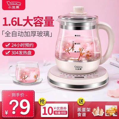 小浣熊养生壶全自动玻璃多功能家用花茶煮茶器mini办公室小型茶壶