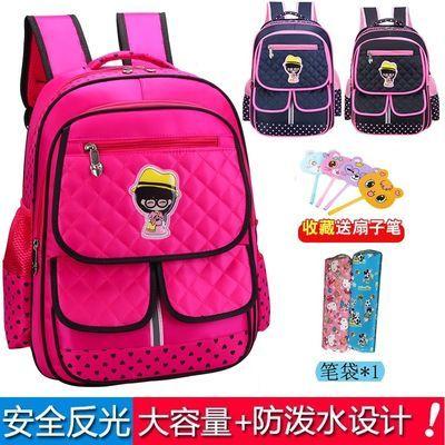 小学生书包女学生韩版英伦儿童书包男1-3-6年级太空书包防水减负