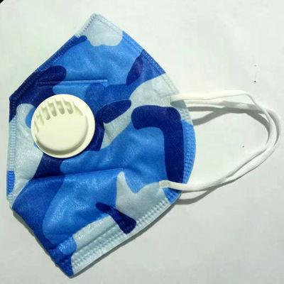 时尚防护口罩 专注防护除尘五层过虑折叠带呼吸阀一次性口罩