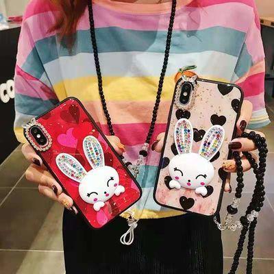 华为P30畅享9可爱20s兔子9x手机壳8x个性nova5pro女4保护套10plus