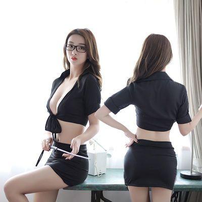 新款情趣内衣制服诱惑包臀ol秘书老师激情工作装激情角色扮演超骚