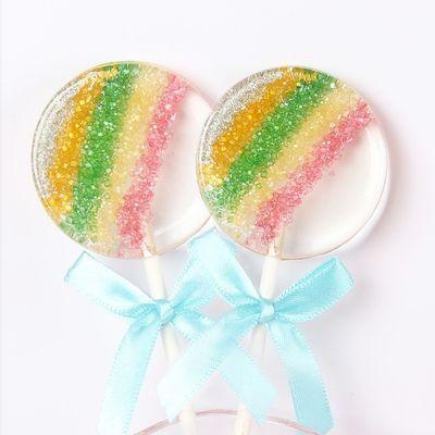 星空棒棒糖手工创意海洋之心波板糖送儿童女生节日礼品圣诞节糖果