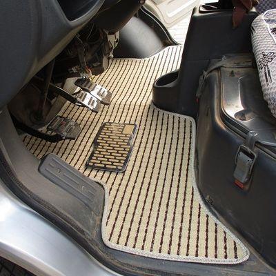 福田时代驭菱V1/VQ1/VQ2/V2/VQ5/V5/C版Q版鸿运单排双排货车脚垫