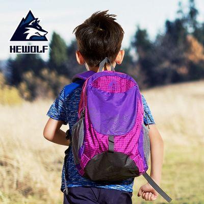 公狼 儿童背包户外运动包双肩包小学生旅行包休闲书包男女登山包