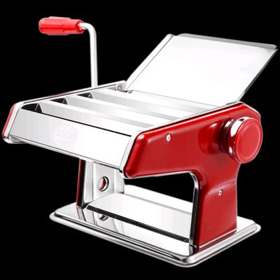 俊媳妇家用面条机小型多功能压面机手动不锈钢饺子馄饨皮机面机