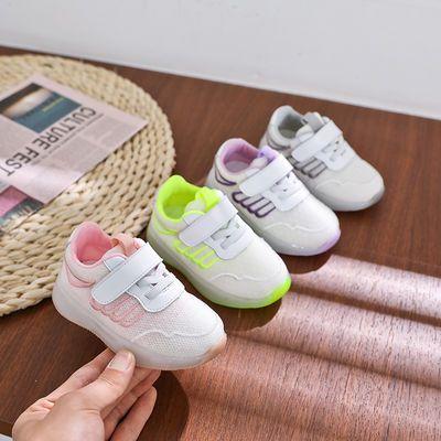 春秋季宝宝运动鞋软底男童宝宝鞋0-1-3岁婴儿鞋防滑学步鞋潮休闲
