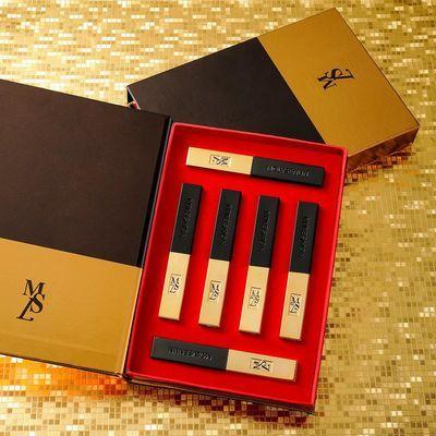 小金条口红套装情人节礼物一盒礼盒装高颜值不掉色独角兽全套套盒