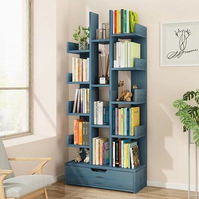 &创意书架书柜简约客厅置物架桌上家用学生落地经济型简易小书架