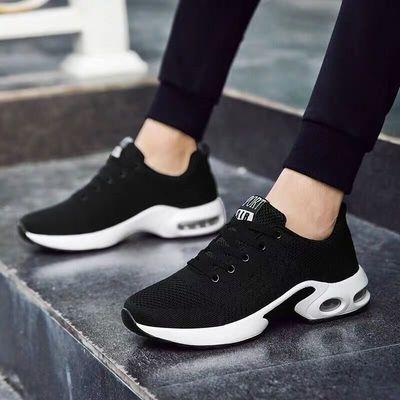 2020夏季新款保暖防臭透气休闲运动潮鞋男士跑步潮鞋百搭网鞋子