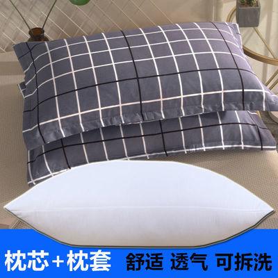 学生枕头套装可爱一只装枕头芯加枕头套卡通可爱枕头芯一对护颈枕