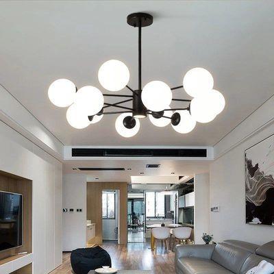 冷普士北欧魔豆吊灯客厅卧室餐厅风格简约创意灯具灯饰配led灯泡