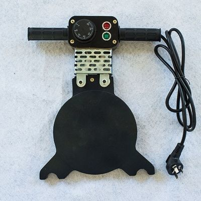 PE管对焊机对接机焊接机 热熔器熔接器配件加热板 烫板手摇加热板