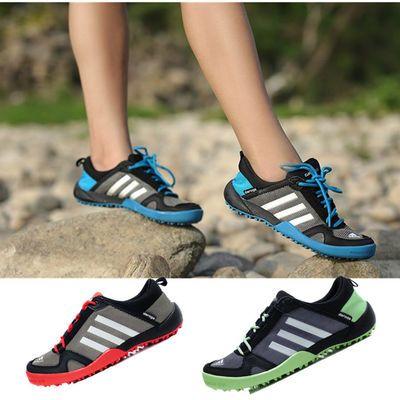 2020夏季网鞋运动休闲凉鞋透气男鞋子女鞋网面洞洞鞋新款沙滩鞋潮
