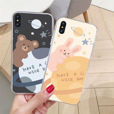华为nova6se/5ipro/3e/i/2/s/3/4/plus/青春版手机壳星球小熊小兔