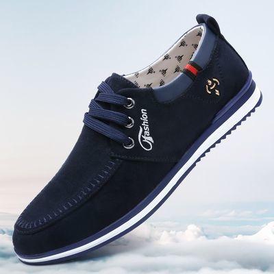 男鞋春季单鞋新款老北京布鞋男休闲鞋透气防臭潮流帆布鞋男鞋子