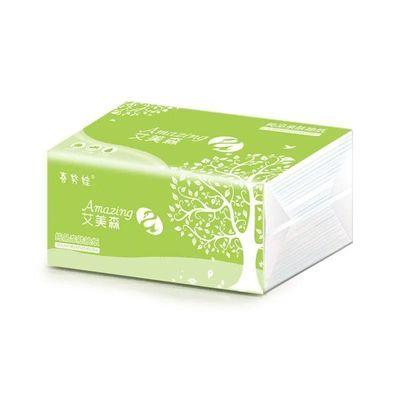 喜努娃纸巾家用抽纸家庭装餐巾纸实惠装卫生纸特价批发【3月1日发