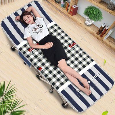 【住宅家具】顶乐加粗加宽午休床午睡床单人折叠床陪护简易行军床