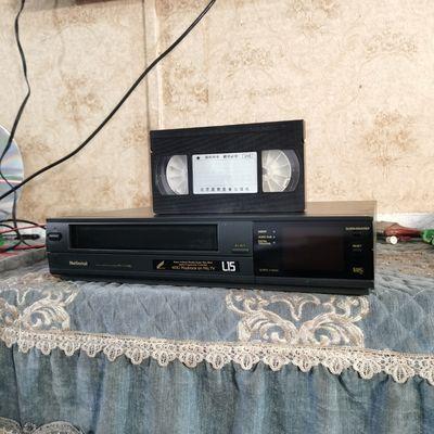 @【90年代】进口松↓L15录像机,vhs格式,大磁带播放器vhs格式